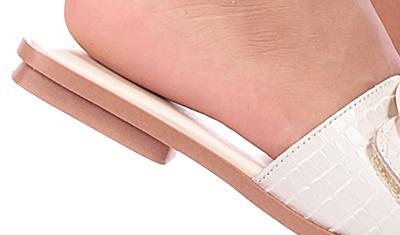 rasteira slide croco off white 4