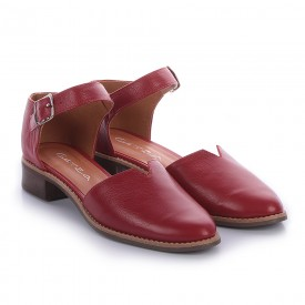 sapato texturizado vermelho 3