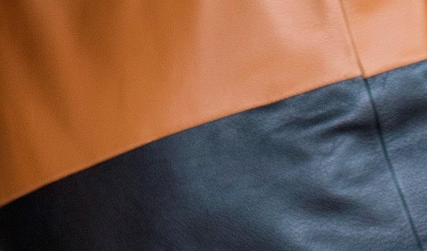 bolsa bicolor caramelo 3