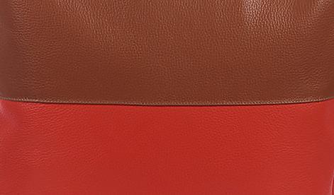 bolsa bicolor vermelho 2