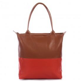 bolsa bicolor vermelho 1