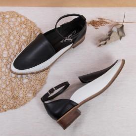 sapato bicolor preto 4